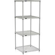 "Nexelate Wire Shelving, 24""W X 24""D X 63""H"