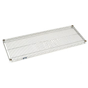 "Nexel S2430EP Nexelate Wire Shelf 30""W x 24""D with Clips"
