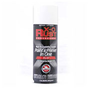 X-O Rust 12 oz. Aerosol Rust Preventative Paint & Primer In One, Flat White - 125796