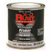 X-O Rust Oil Base Primer, White Metal Primer, 1/2-Pint - 151453