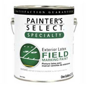 Painter's Select Latex Field Marking Paint, Flat Finish, Red, 5-Gallon - 169049