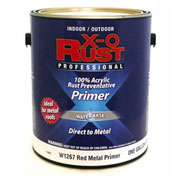 X-O Rust Anti-Rust Enamel, Red Metal Primer, Gallon - 176801