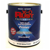 X-O Rust Anti-Rust Enamel, White Metal Primer, Gallon - 176802