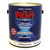 X-O Rust Anti-Rust Enamel, Gray Primer, Gallon - 176810