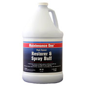 Maintenance One High Speed Restorer, 1 Gallon Bottle, 1/Case - 512506