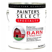 Painter's Select Oil Gloss Barn & Fence Paint, Gloss Finish, Barn Red, Gallon - 798371