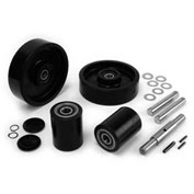 GPS Complete Wheel Kit for Manual Pallet Jack GWK-BFII-CK - Fits Mighty Lift Model # ML55-II & ML55L