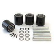 GPS Load Wheel Kit for Manual Pallet Jack GWK-HP25L-T-LW - Fits Hu-lift Model # HP25L (Tandem)