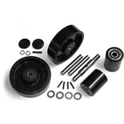 GPS Complete Wheel Kit for Manual Pallet Jack GWK-VJ-CK - Fits Valu-Jack Model # VJ 5500 & 6600