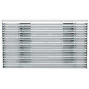 GE Thru The Wall Architectural Louvered Exterior Grille RAG14E for use with GE Sleeves RAB46/47/48