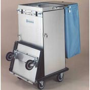 Odyssey™ Stainless Steel Housekeeping Cart W/ Folding Tray