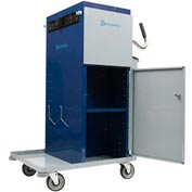 "High Capacity Microfiber Powder Coated Cart - 49"" High"