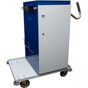 "High Capacity Microfiber Powder Coated Cart - 41"" High"