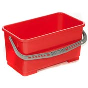 Flat Mop Bucket 22 Liter - Red