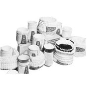"Coffee Urn Filters, 20"" Diameter, 8"" Bottom"