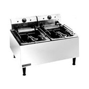 Countertop Medium Duty Electric Fryer- 2  15 lb. Capacity