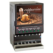 Cecilware GB6M10-LD-U - Cappucino Dispenser, 6 Flavors, Destination Series