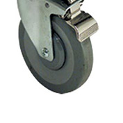 Floor Model Gas Fryer Locking Caster