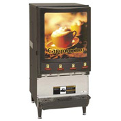 Hot Powdered Beverage Dispensers, Four Flavors