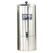 Stainless Steel Iced Tea Dispensers, 10 Gallon