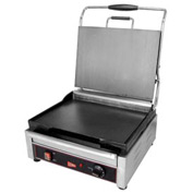 Grindmaster Panini / Sandwich Grill, Single Flat Surface, 120V - SG1SF