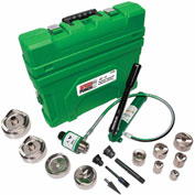 Greenlee® 7310SBSP Speed Punch® Knockout Kit, Conduit, MS 1/2X4