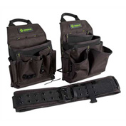 Greenlee 0158-16 Pouch And Belt Combo Pack, 3-Piece