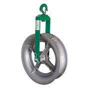 "Greenlee 652 Hook-Type Sheave For Easy Tugger And Tugger, 18"" Hook Type"