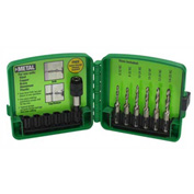 Greenlee DTAPKITM 6-Piece Metric Drill / Tap Set