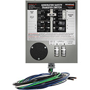 Generac Prewired 30 Amp 7500-Watt Manual Transfer Switch for 6-10 Circuits