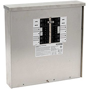 Generac 50-Amp 12,500-Watt Outdoor Manual Transfer Switch for 12-16 Circuits