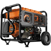 Generac 6673, 7000 Watt Generator, Gas Engine, Recoil/Electric Start, Includes Cord