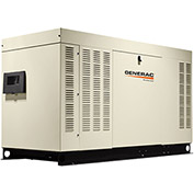 Generac RG04524ANSX, 45kW, Single Phase, Liquid Cooled Generator, NG/LP, Steel Enclosure