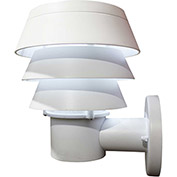 Gama Sonic 126210 Triple Tier Solar LED Outdoor Wall Light, White