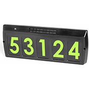 Gama Sonic 80004 Solar LED Illuminated Address Sign