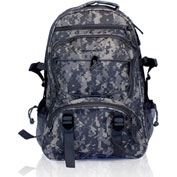 Guardian Survival Gear Camo Backpack With Orange Pull-Out Flag