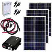 Grape Solar GS-300-KIT 300-Watt Off-Grid Solar Kit
