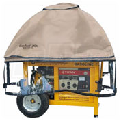 GenTent GT20KB4UTB,20k Stormbracer Safety Canopy for Gen. 10kW&Up,Sq.&Round Frame,Tan,Made in USA