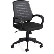 Offices to Go™ Mesh Back Managers Chair Black