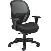 Offices to Go™ Mesh Back Weight Sensing Synchro Chair