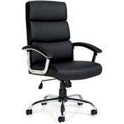 Offices to Go™ Executive Office Chair - Luxhide - Black