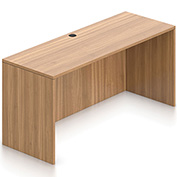 """Offices To Go™ Credenza Shell - 66"""" x 24"""" - Walnut"""