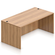 """Offices To Go™ Desk Shell - 71"""" x 36"""" - Walnut"""