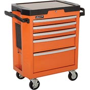 "Homak 30"" GT SERIES 5-Drawer Rolling Cabinet"