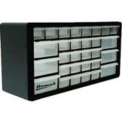 "Homak 30 Drawer Parts Organizer, 19-7/8""W x 6-1/4""D x 10""H"