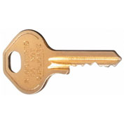 Hallowell C8052-MK Master Key for Cell Phone/Tablet Locker with Keyed Locks Ready To Assemble