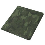 12' x 24' Light Duty 3.3 oz. Tarp, Camouflage/Green - CAMO12x24