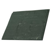 50' x 50' Medium Duty 4.5 oz. Tarp, Forest Green - G50x50