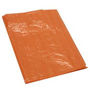 10' x 12' Light Duty 3.3 oz. Tarp, High Visibility Orange - O10x12