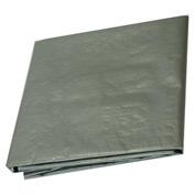 10' x 12' Heavy Duty 6 oz. Tarp, Silver - T1012